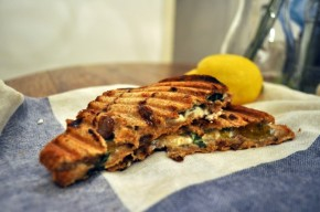 Fig and Goat Cheese Grilled Sandwiches