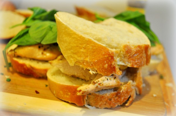 Chicken Sandwiches with Apricot Sauce